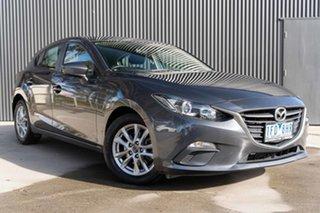 2015 Mazda 3 BM5478 Neo SKYACTIV-Drive Meteor Grey 6 Speed Sports Automatic Hatchback.