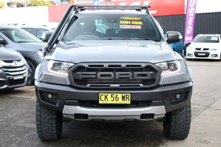 2019 Ford Ranger PX MkIII 2019.00MY Raptor Silver 10 Speed Sports Automatic Double Cab Pick Up
