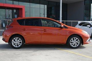 2017 Toyota Corolla ZRE182R Ascent Sport S-CVT Orange 7 Speed Constant Variable Hatchback.