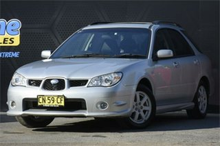 2007 Subaru Impreza S MY07 Luxury AWD Silver 4 Speed Automatic Hatchback.