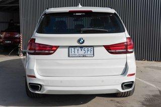 2014 BMW X5 F15 sDrive25d White 8 Speed Automatic Wagon