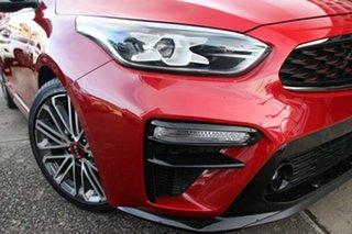 2019 Kia Cerato BD MY19 GT DCT Red 7 Speed Sports Automatic Dual Clutch Sedan.