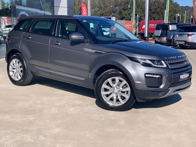Used Land Rover Range Rover Evoque L538 MY18 TD4 150 SE West Gosford, 2017 Land Rover Range Rover Evoque L538 MY18 TD4 150 SE Corris Grey 9 Speed Sports Automatic Wagon