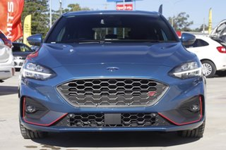 2020 Ford Focus SA 2021MY ST Blue 7 Speed Automatic Hatchback