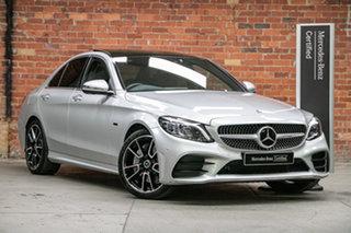 2020 Mercedes-Benz C-Class W205 801MY C300 9G-Tronic e Iridium Silver 9 Speed Sports Automatic Sedan.