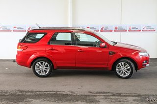 2011 Ford Territory SZ TS (4x4) Red 6 Speed Automatic Wagon.