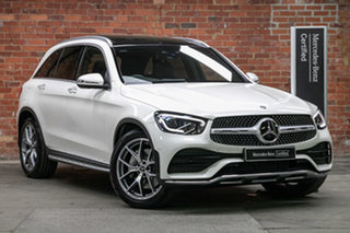 2020 Mercedes-Benz GLC-Class X253 800+050MY GLC300 9G-Tronic 4MATIC Diamond White 9 Speed.