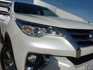 2018 Toyota Fortuner GUN156R GXL Glacier White 6 Speed Automatic Wagon
