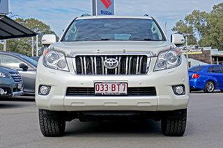 2012 Toyota Landcruiser Prado KDJ150R VX Blizzard Pearl 5 Speed Sports Automatic Wagon.