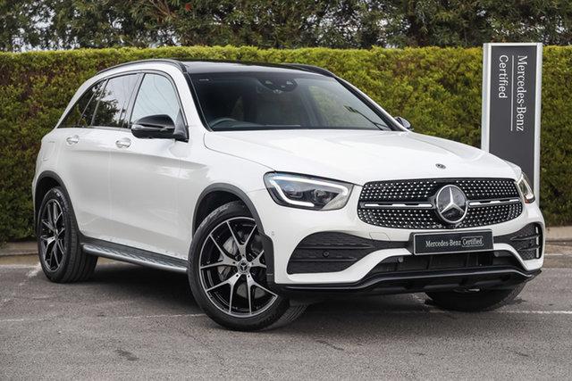 Certified Pre-Owned Mercedes-Benz GLC-Class X253 800+050MY GLC300 9G-Tronic 4MATIC Mulgrave, 2020 Mercedes-Benz GLC-Class X253 800+050MY GLC300 9G-Tronic 4MATIC Polar White 9 Speed
