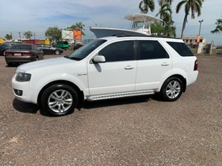 2011 Ford Territory TX White 4 Speed Auto Active Select Wagon.