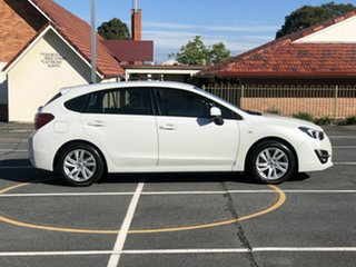 2015 Subaru Impreza G4 MY15 2.0i Lineartronic AWD White 6 Speed Constant Variable Hatchback.