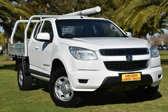 Used Holden Colorado RG MY15 LS Space Cab Cheltenham, 2015 Holden Colorado RG MY15 LS Space Cab White 6 Speed Sports Automatic Cab Chassis