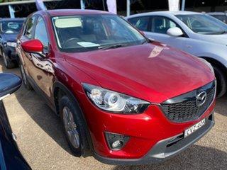 2014 Mazda CX-5 KE1021 MY14 Maxx SKYACTIV-Drive AWD Sport Red 6 Speed Sports Automatic Wagon.