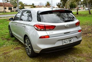 2017 Hyundai i30 PD MY18 Elite D-CT Silver 7 Speed Sports Automatic Dual Clutch Hatchback