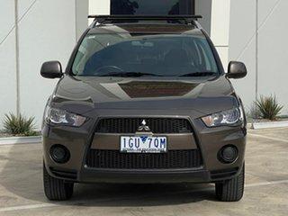 2010 Mitsubishi Outlander ZH MY10 LS Bronze 5 Speed Manual Wagon.