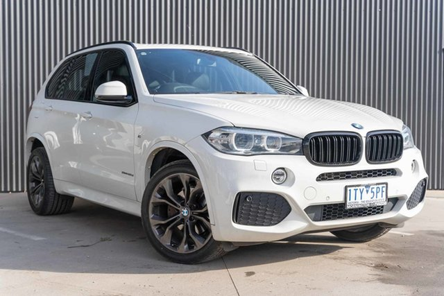 Used BMW X5 F15 sDrive25d Mornington, 2014 BMW X5 F15 sDrive25d White 8 Speed Automatic Wagon