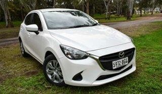 2015 Mazda 2 DJ2HAA Neo SKYACTIV-Drive White 6 Speed Sports Automatic Hatchback.