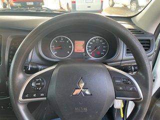 2017 Mitsubishi Triton MQ MY18 GLX (4x4) White 6 Speed Manual Dual Cab Chassis