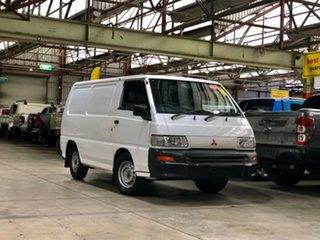 2006 Mitsubishi Express SJ M07 SWB White 5 Speed Manual Van.