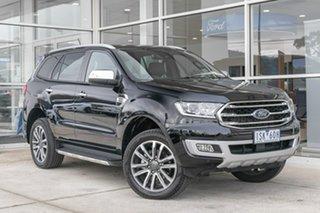 2020 Ford Everest UA II 2021.25MY Titanium Black 10 Speed Sports Automatic SUV.