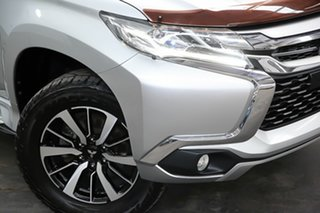 2016 Mitsubishi Pajero Sport QE MY16 GLS Silver 8 Speed Sports Automatic Wagon.