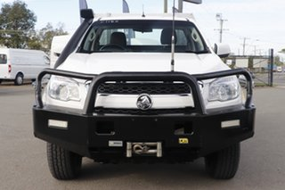 2014 Holden Colorado RG MY14 LX Summit White 6 Speed Sports Automatic Cab Chassis