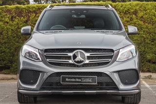 2018 Mercedes-Benz GLE-Class W166 MY808+058 GLE250 d 9G-Tronic 4MATIC Selenite Grey 9 Speed