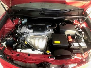 2013 Toyota Camry ASV50R Atara R Barcelona Red 6 Speed Sports Automatic Sedan