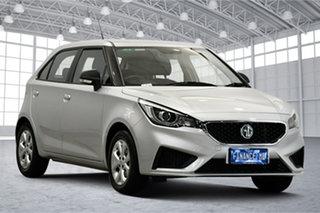 2020 MG MG3 SZP1 MY20 Core Scottish Silver 4 Speed Automatic Hatchback.