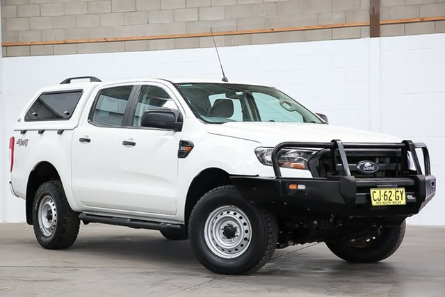Used Ford Ranger PX MkII XL Erina, 2016 Ford Ranger PX MkII XL White 6 Speed Manual Utility