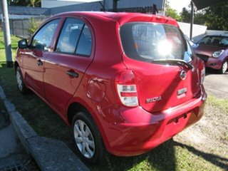 2012 Nissan Micra K13 Upgrade ST Red 4 Speed Automatic Hatchback