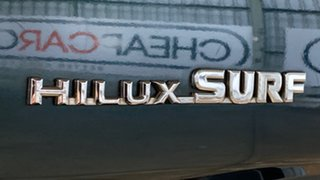 1993 Toyota Hilux Surf SSR-X Wide Body Green 4 Speed Automatic Wagon