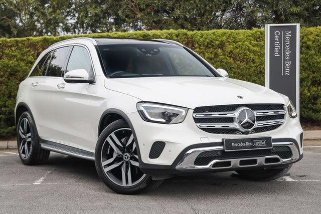 Certified Pre-Owned Mercedes-Benz GLC-Class X253 800+050MY GLC300 9G-Tronic 4MATIC Mulgrave, 2020 Mercedes-Benz GLC-Class X253 800+050MY GLC300 9G-Tronic 4MATIC Diamond White 9 Speed