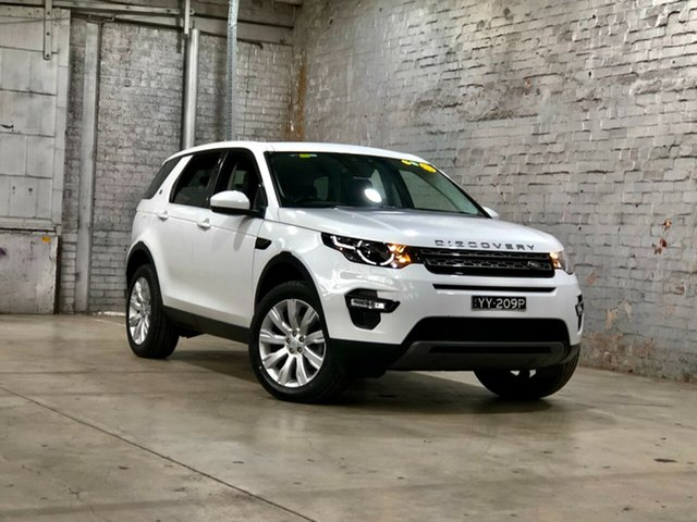 Used Land Rover Discovery Sport L550 16.5MY SD4 SE Mile End South, 2016 Land Rover Discovery Sport L550 16.5MY SD4 SE White 9 Speed Sports Automatic Wagon