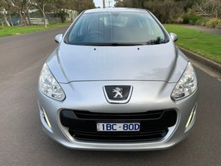 2013 Peugeot 308 T7 Style Silver Sports Automatic Hatchback