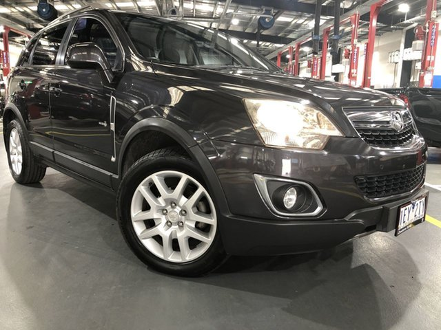 Pre-Owned Holden Captiva CG Series II MY12 5 AWD Oakleigh, 2013 Holden Captiva CG Series II MY12 5 AWD 6 Speed Sports Automatic Wagon