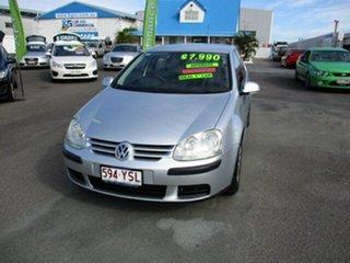 2006 Volkswagen Golf FSI Silver 5 Speed Auto Active Select Hatchback.