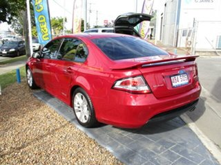 2011 Ford Falcon XR6 Red 4 Speed Automatic Sedan