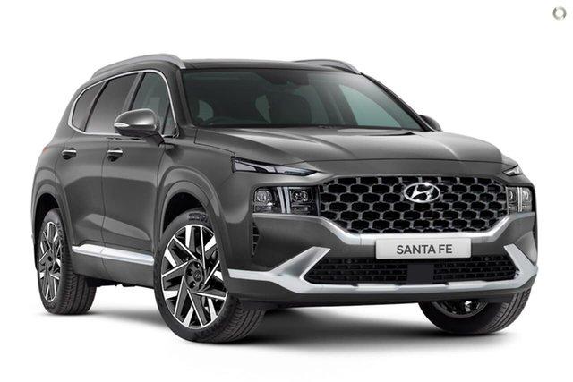 New Hyundai Santa Fe Tm.v3 MY21 Highlander Oakleigh, 2021 Hyundai Santa Fe Tm.v3 MY21 Highlander Grey 8 Speed Sports Automatic Wagon