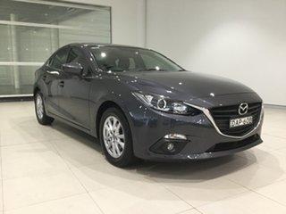 2015 Mazda 3 BM5278 Maxx SKYACTIV-Drive Meteor Grey 6 Speed Sports Automatic Sedan.