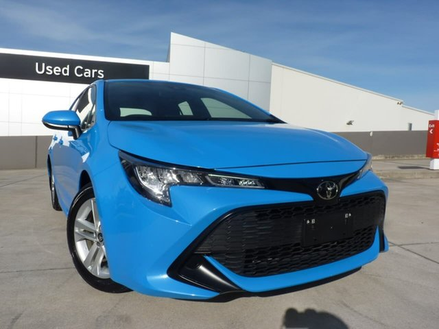 Pre-Owned Toyota Corolla Mzea12R Ascent Sport Blacktown, 2018 Toyota Corolla Mzea12R Ascent Sport Eclectic Blue 10 Speed Constant Variable Hatchback