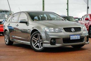 2011 Holden Commodore VE II SV6 Sportwagon Grey 6 Speed Sports Automatic Wagon.