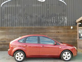 2006 Ford Focus LS LX Red 4 Speed Sports Automatic Hatchback.