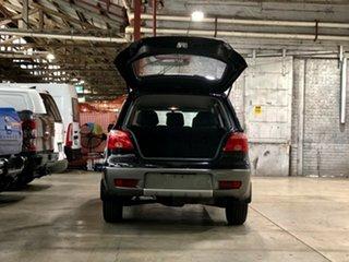 2005 Mitsubishi Outlander ZF LS Black 4 Speed Sports Automatic Wagon