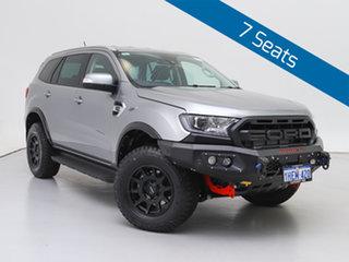 2020 Ford Everest UA II MY20.25 Trend (4WD 7 Seat) Silver 10 Speed Auto Seq Sportshift SUV.