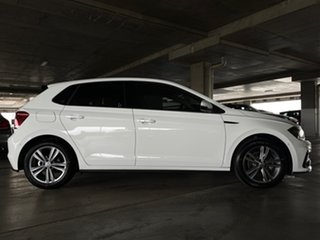 2018 Volkswagen Polo AW MY19 85TSI DSG Comfortline White 7 Speed Sports Automatic Dual Clutch