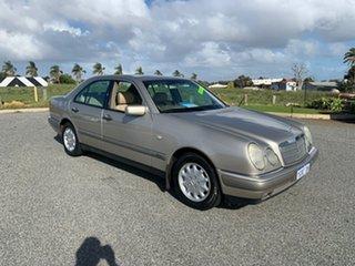1998 Mercedes-Benz E240 W210 Classic Silver 5 Speed Automatic Sedan.