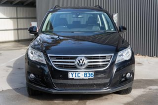 2011 Volkswagen Tiguan 5N MY11 103TDI DSG 4MOTION Black 7 Speed Sports Automatic Dual Clutch Wagon.