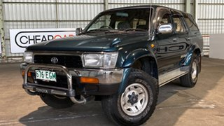 1993 Toyota Hilux Surf SSR-X Wide Body Green 4 Speed Automatic Wagon.